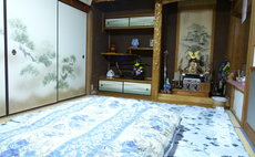 Traditional Japanese-style room renovated