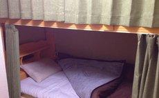2段ベッドで個室プラン ゲストハウス宿泊