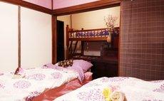 Samurai House Yukimura - 奥には2段ベッドも