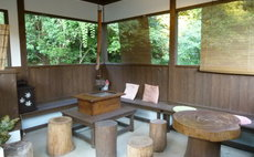 Enjoy nature in a lodge-style room