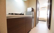 SJアパートメント蒲田A - キッチンからみた居室