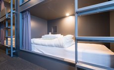 ベッド1台・6名女性用ドミトリー 8A