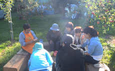 Matsunosuke - Apple harvest and blossom picking