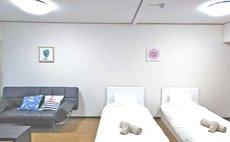 4ベッドがある 4人部屋 A