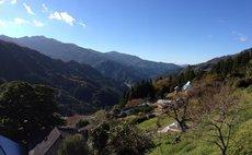高知・吉野川・お山の上の縁側付き和室