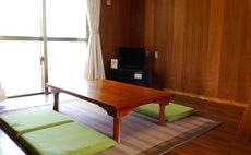 All rooms overlook the ocean view twin room