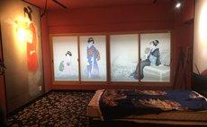Osaka Ukiyo-e hotel:beauty portraits
