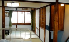 Japanese-style room on the second floor