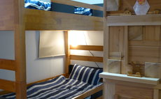 a dormitory like Western style room