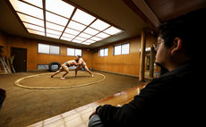 Sumo Stable Stay w/ Sumo tournament tickets