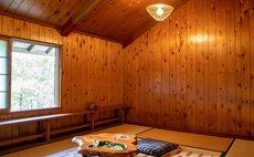 """Mitsui Field Garden"" Log House Cabin"