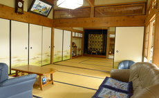 Japanese house built more than 100 years old