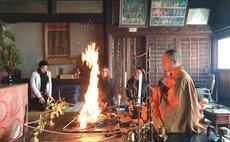 1300 Years Old Historic Aki Kokubun-Ji Temple Stay