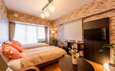 SJ大阪中央公寓1202 溫馨風格房間