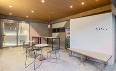 Men and women shared dormitory room , for group