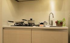 AMB羽田比恩维尤公寓式酒店 104 雙床房