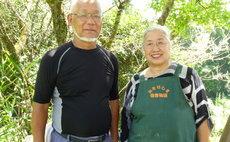 さと山 秋路・夫婦手作りの公園や庭で里山を満喫