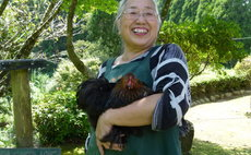 Akiji, enjoy the satoyama in the park and garden
