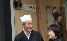 A farmer, Mr. Kato's House